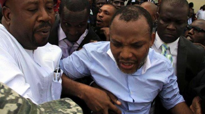 Kanu's brother orders lawyer out of court