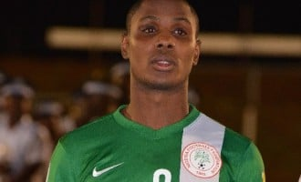 Ighalo's dad dies 'peacefully'