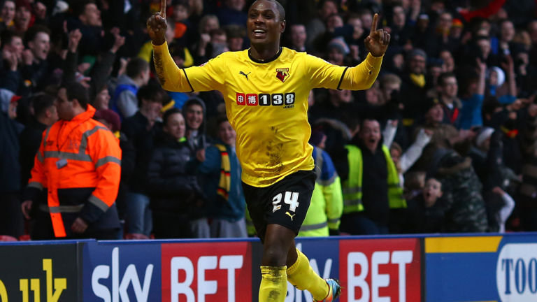 Odion Ighalo Blackpool