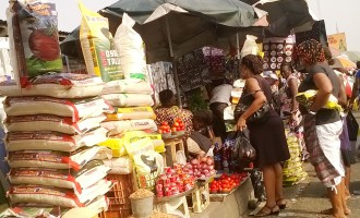 Traders at Mile 12 market vow to live in peace