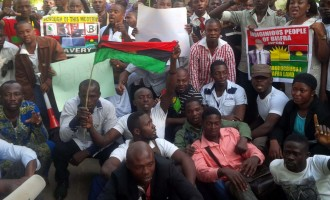 Biafra campaigners besiege FCT court