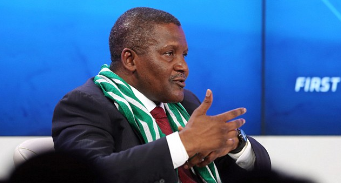 I want to be Africa's biggest philanthropist, says Dangote