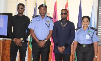 Is D'banj the latest police ambassador?
