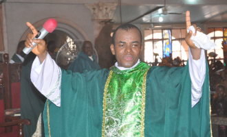 Ugwuanyi is God's anointed, says Mbaka