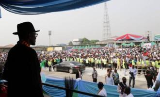 Buhari was stoned in Bayelsa, says Dickson