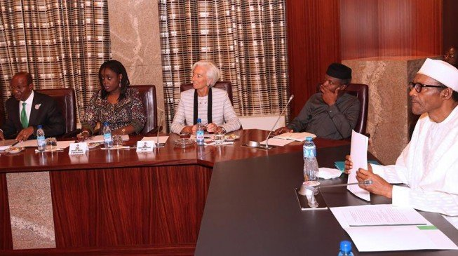 I'm not in Nigeria to negotiate IMF loan, says Lagarde