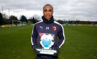 Ighalo named EPL player of the month