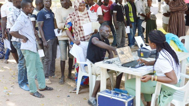 INEC begins nationwide voter registration