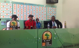 CHAN Eagles are favorites only on paper, says Oliseh