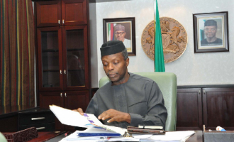 Osinbajo: 'Someone somewhere' recommended me to be vice president