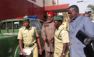PDP governors on Metuh's handcuffing: APC will not be in power forever