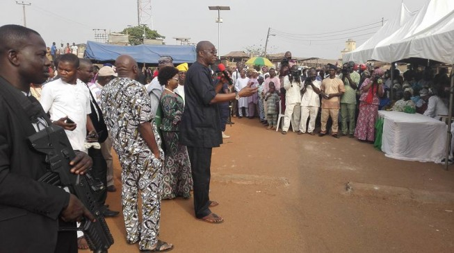 Fayose to Ekiti workers: I love you but I don't have money