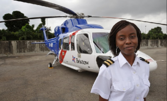 TRIBUTE: Jayeola, Nigeria's 1st female helicopter captain who 'saved' 11 lives in Bristow crash