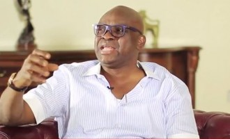 Fayose to Buhari: You should be on your way to Baga — not Uyo