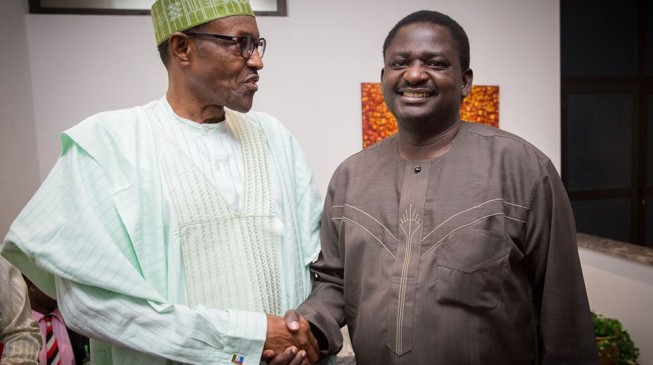 Femi Adesina: It will get to a point when Buhari will disclose his health status