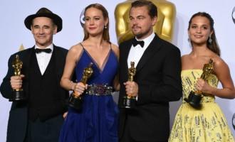 AT A GLANCE: 2016 Oscar winners