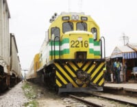 Train crushes woman to death in Lagos