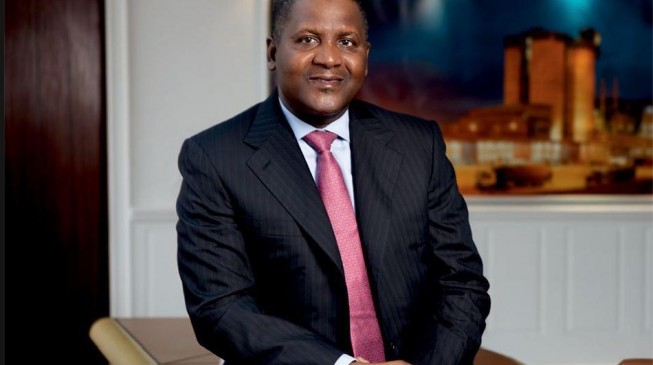 Dangote increases wealth by $4.3bn to become world's 96th richest man