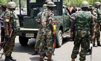 Military begins withdrawal from Abia