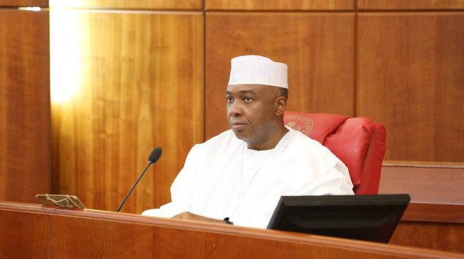 Saraki launches made-in-Nigeria contest to counter imported goods