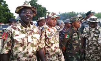 Buratai: Sambisa forest is as big as Enugu