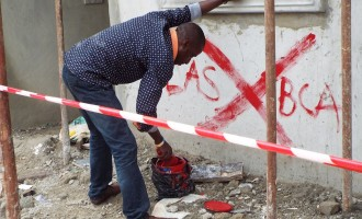 Lekki Gardens sealed, police arrest contractor
