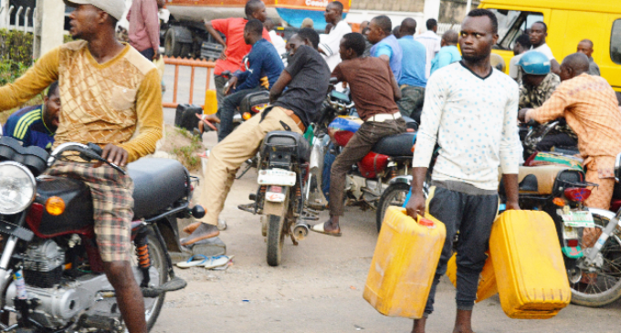 ALERT: Buy petrol with jerry can, end up in prison