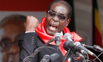 Mugabe threatens to punch journalist