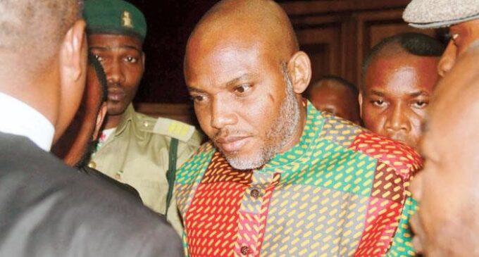 FG absent as court adjourns Nnamdi Kanu's case till October 7