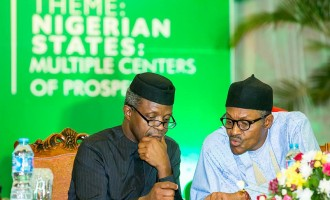 Buhari strict on money issues, says Osinbajo