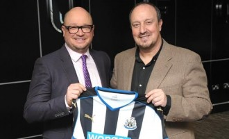 Despite relegation, Benitez signs 3-year extension with Newcastle