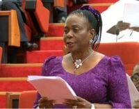 Protest as PDP senator 'orders aide to slap' national assembly worker