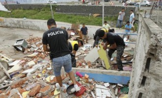 Ecuador declares state of emergency after earthquake killed 233