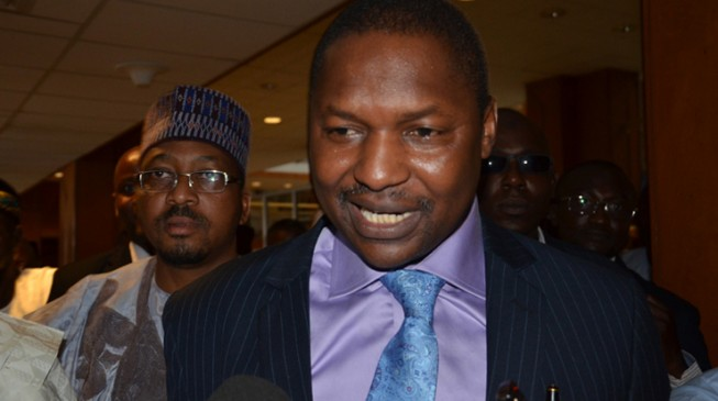 Malami: FG will publish the names of 'looters'