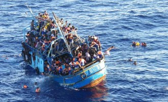 '500 migrants' drown in Mediterranean shipwreck