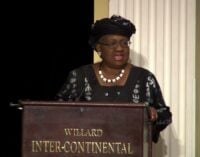Okonjo-Iweala: SDGs can't be achieved without transparency