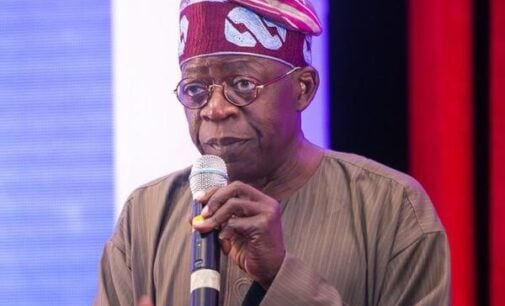 Tinubu to #EndSARS protesters: Give FG a chance to implement police reforms