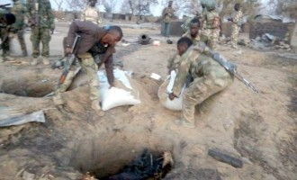 Troops uncover Boko Haram's food bank