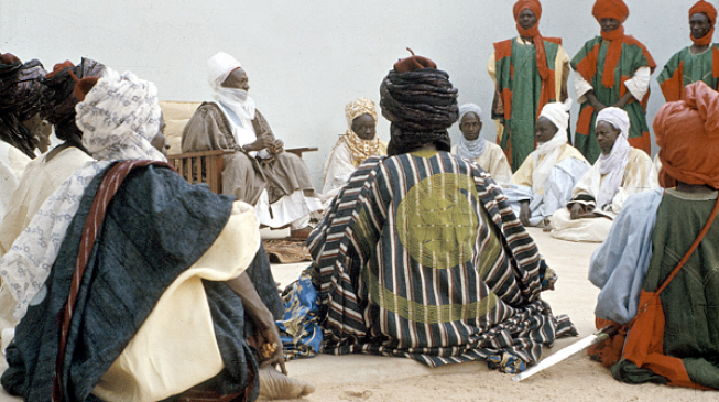 Borno emirs return home 2 years after running away from B'Haram