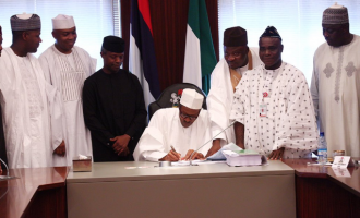 Budget signed… 5 months after presentation