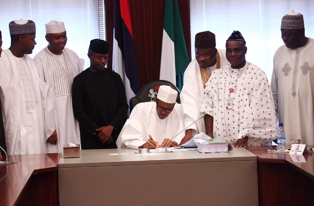 Budget signed... 5 months after presentation - TheCable