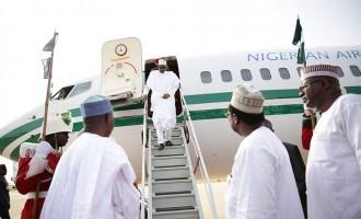 Anti-graft war takes Buhari, Magu to London