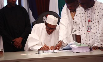 Buhari signs 8 bills into law