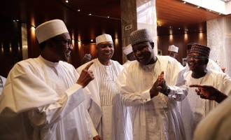 Buhari in private meeting with Dogara