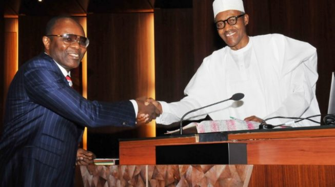 Petroleum minister Buhari and 'fuel scarcity minister' Kachikwu
