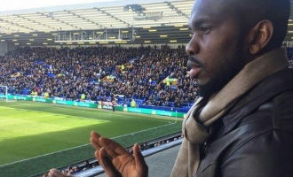 Yobo honoured on Everton return