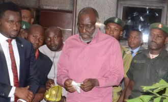 UPDATED: Metuh hospitalised after vomiting on his way to court