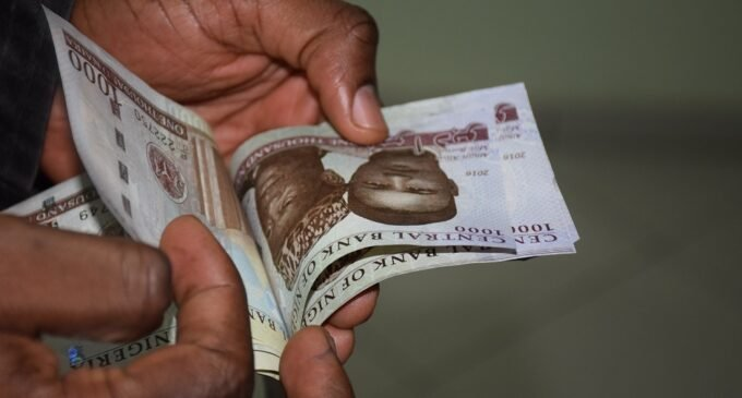 Naira steady as oil output slips and remittances fall