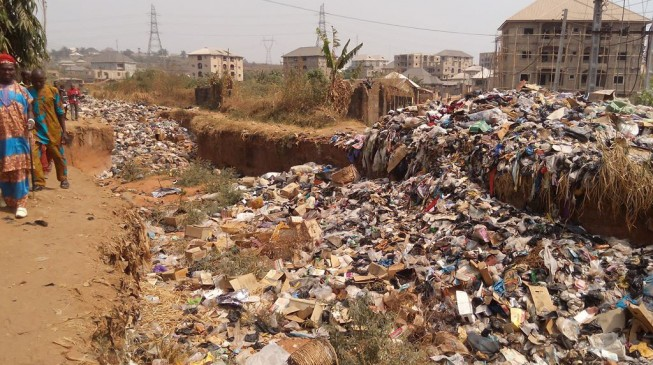 Onitsha is the 'most polluted' city in the world