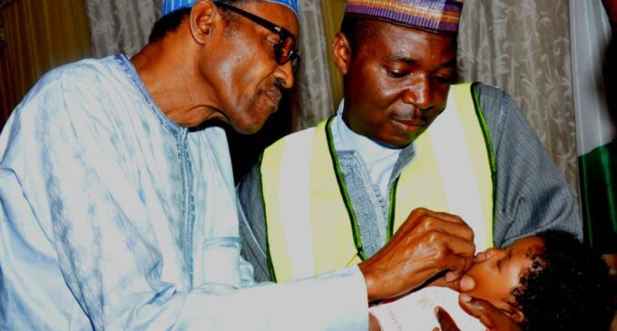 Buhari: Eradication of polio is one of the dividends of our govt